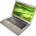 Mit seinem 13,3 Zoll großen Bildschirm bringt es das Acer Aspire S3-391 auf noch tragbare 1,4 Kilogramm (Bild: Acer)