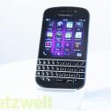 Das BlackBerry Q10 läuft mit der neuen Plattform BlackBerry 10. (Bild: netzwelt)