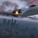 Selbst den Himmel können Spieler in GTA 5 erobern. (Bild: Rockstar Games)