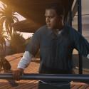 Der dritte Hauptcharakter Franklin besitzt in GTA 5 einen Hund, der sich auch dressieren lassen soll. (Bild: Rockstar Games)