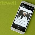 Beliebte Features des HTC One wie BlinkFeed sind auch auf dem One mini zu finden. (Bild: netzwelt)