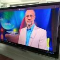 Die Miniprogramme sind nicht an den Fernseher angepasst.  Wegen des schlechten WLAN-Durchsatzes gibt es bei einigen TV-Apps Empfangsprogramme bei den Videostreams. (Bild: netzwelt)