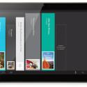 Das Tablet läuft mit Android, der Hersteller versieht es jedoch mit einer eigenen Nutzeroberfläche. (Bild: Kobo)
