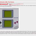Bereits 2011 scherzte NeoGAF-Forum-Nutzer David Murnan über den Nintendo 2DS. (Bild: NeoGAF/David Murnan)