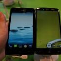 Trotz größerem Display ist das S2 (rechts) im Vergleich zum S1 (links) nur unwesentlich größer. (Bild: netzwelt)