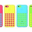 Noch mehr Farbe kommt mit den offiziellen Apple-Schutzhüllen ins Spiel. Sie sind erhältlich in Blau, Grün, Pink, Gelb, Schwarz und Weiß. (Bild: Apple)