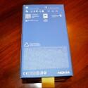 Auf der Rückseite des Kartons findet der Nutzer unter anderem die Daten des Geräts und Angaben zum Lieferumfang. (Bild: netzwelt)