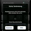 Bei jedem Start sucht die App das als Knotenpunkt fungierende Controller-Gerät im Netzwerk. (Bild: Screenshot)