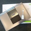 Praktisch: Auch einen VGA-Adapter legt Acer bei. (Bild: netzwelt)