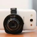 Das Kameramodul mit dem Samsung Galaxy S3 verbunden. (Bild: netzwelt)