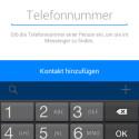 Freunde über Handynummer auch ohne Facebook-Account erreichen. (Bild: Screenshot)