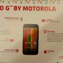 Der Webseite GSMArena.com wurde dieses Bild des Moto G nebst Spezifikationen zugespielt. (Bild: GSMArena.com)