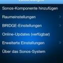 Auch per App für iPhone, iPad oder Android fügt man neue Sonos-Komponenten hinzu. (Bild: netzwelt)