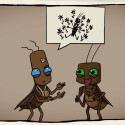 """Kakerlaken haben eine recht """"bildliche"""" Sprache. (Bild: Daedalic)"""