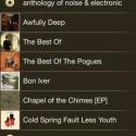 Auf iOS-Geräten werden auch die Cover aus Apples Musik-App angezeigt. (Bild: Screenshot)