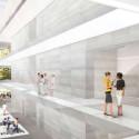 Nicht nur von außen, auch von innen ist das neue Hauptquartier weiß.