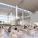 So könnte der Speisesaal für die Apple-Mitarbeiter aussehen.