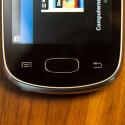 Das Galaxy Star besitzt einen physischen Home-Button und zwei Sensor-Tasten unter dem Display. (Bild: netzwelt)
