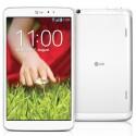 Außer in Schwarz können Interessierte das Tablet auch in Weiß ordern. Der aktuelle Preis beträgt knapp 300 Euro. (Bild: LG)