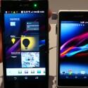 Das Xperia Z1 (links) ist deutlich größer als das Xperia Z1 Compact (rechts). (Bild: netzwelt)