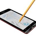 Auf dem Display lässt sich mit einem herkömmlichen Bleistift malen und zeichnen. (Bild: Asus)