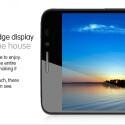 Das nahezu rahmenlose Display bietet eine Bilddiagonale von fünf Zoll und löst mit 1.920 x 1.080 Pixeln auf. (Bild: Alcatel)