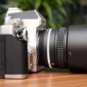 Die Special Edition des AF-S 50mm F1,8G ist optisch an das Design der Df angepasst und erinnert an ältere Nikkor-Objektive. (Bild: netzwelt.)