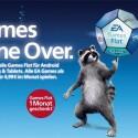 O2-Kunden mit einem Android-Smartphone können sich für 4,99 Euro im Monat eine EA Games-Flatrate sichern und erhalten dann Zugriff auf die Vollversion aller EA-Titel für mobile Geräte. (Bild: O2)