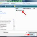 """Suchen Sie die gesicherte Datei mit der Endung REG auf Ihrer Festplatte und öffnen Sie diese über den Button """"Öffnen"""". Warten Sie, bis alle Daten eingelesen sind. Achtung: Spielen Sie nur Ihre eigene Sicherungsdatei ein. Wir raten von dem Import fremder Registry-Files aus dem Internet ab.  (Bild: Screenshot)"""