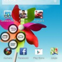 Mi Pop ist ein Element, das die Einhandbedienung des ZTE Grand S Flex erleichtern soll. (Bild: Screenshot ZTE Grand S Flex)