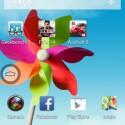 Es blendet die Android-Schaltflächen als virtuelle Bedienelemente ein. (Bild: Screenshot ZTE Grand S Flex)