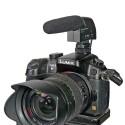 Auf der Kamera wirkt das dünne MKE 400 ziemlich unauffällig trotz 13 cm Baulänge. (Bild: H-J. Kruppa)