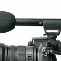 Das Monomikrofon Sennheiser MKE 600 ist mit über 25 cm das längste Richtrohr im Test. (Bild: H-J. Kruppa)