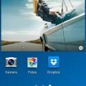 Die Symbole in der Benachrichtigungsleiste sind nun weiß. (Bild: Screenshot Galaxy S4)