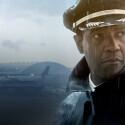 """Denzel Washington übernimmt in """"Flight"""" die Hauptrolle des alkoholabhängigen William Whitaker. Whip ist Pilot, ihm gelingt - obgleich er betrunken ist - eine meisterhafte Notlandung. Es stellt sich heraus, dass er in alkoholisiertem Zustand geflogen ist. (Bild: Paramount Pictures)"""