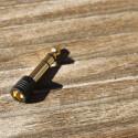 Zum Lieferumfang gehören ein vergoldetes Adapterstück und... (Bild: netzwelt)