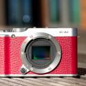Im Gegensatz zu anderen Systemkameras von Fuji kommt in der X-A1 ein CMOS-Sensor mit Bayer-Pattern zum Einsatz. Das APS-C-Format und die Auflösung von effektiv 16,3 Megapixeln besitzt jedoch auch der Sensor der X-A1.(Bild: netzwelt)