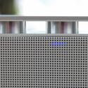 Fast wie die Tasten eines Blasinstruments: Der eigentliche Lautsprecher ist von den Tasten leicht abgesetzt. (Bild: netzwelt)
