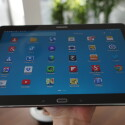 Lange lässt sich das riesige Tablet jedoch nicht in einer Hand halten. (Bild: netzwelt)