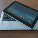 Gleiches gilt für die Tablet-Einheit, die im Notebook-Betrieb als Display fungiert. (Bild: netzwelt)
