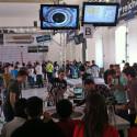 Die Robot Challenge ist auch 2014 gut besucht. Zu den Bewerben von Europas größtem Roboter-Wettkampf zählt...(Bild: futurezone)