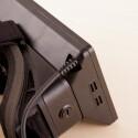 Die obere Seite der Oculus Rift. (Bild: netzwelt)