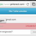 """Langes Drücken aktiviert das """"Einfügen""""-Symbol und schon sparen Sie sich die Tipperei. (Bild: Screenshot Keepass2Android)"""