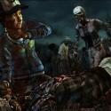 Clementine versucht, eine Herde an Zombies zu überleben. (Bild: Telltale Games)