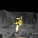 Platz 10 - Lunar Flight: Mit dem recht unaufgeregten Spielprinzip von Lunar Flight konnte ich mich auch auf lange Sicht nicht wirklich anfreunden. Es bedient eine Nische. Doch technisch ist der Virtual Reality-Ausflug in einer Mondlandefähre toll umgesetzt. Durch das Umschauen innerhalb unserer Kapsel können wir beispielsweise die verschiedenen Vorrichtungen bedienen. (Bild: Shovsoft)