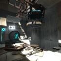 Platz 7 - Portal 2: Portal 2 ist spielbares Gold. Das ändert sich auch in der Virtual Reality-Version nicht. Da zur meisten Zeit keine allzu schnellen Reaktionen von euch gefordert werden, funktioniert es mit Oculus Rift-Unterstützung klasse - und mehr braucht es da auch nicht. (Bild: Valve)