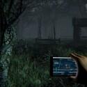 Ein Waldstück im Verlauf von Daylight baut eine dichte Atmosphäre auf und lässt Erinnerungen an Slender wach werden. (Bild: Zombie Studios)