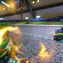 Yoshi kann nicht nur treuer Begleiter, sondern auch starke Kart-Konkurrenz sein. (Bild: Nintendo)