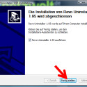 """Um die Installation abzuschließen, klicken Sie auf """"Fertig stellen"""". Wenn Sie das Häkchen vor """"Revo Uninstaller 1.95 ausführen"""" belassen, startet die Software im Anschluss automatisch. (Bild: Screenshot)"""