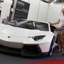 Lamborghini Gallardo: Sitzt man erst mal drin, ist der Sound der Revox-Anlage beeindruckend - staubtrockener Bass. (Bild: Messe)